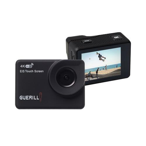 韩际新世界网上免税店-GUERILLA-ACTION CAM-GUERILLA ACTION CAMERA PRO-9000 运动相机 (4K / Wi-Fi / 30M防水 / 防手抖 / 手触屏)
