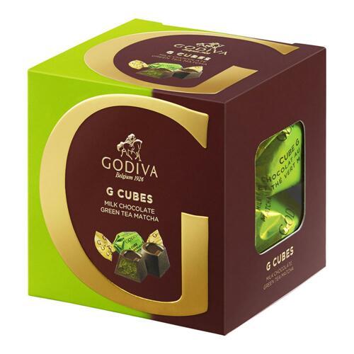 韩际新世界网上免税店-歌帝梵-CHOCOLATE_SWEETS-Milk Chocolate Matcha Green Tea G Cube Truffle (22 pieces) 175g 巧克力