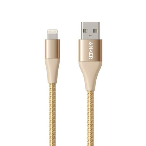 신세계인터넷면세점-앤커-Charger-Cable-앤커 파워라인+ II 라이트닝USB케이블(아이폰용/90cm) 골드
