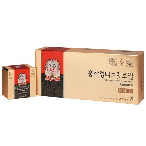 신세계인터넷면세점-정관장-Ginseng-홍삼정타브렛로얄(500mg*120정)