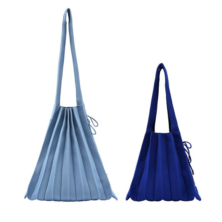신세계인터넷면세점-조셉앤스테이시-여성 가방-Lucky Pleats Knit SET (M+S)_C.BLUE/R.BLUE