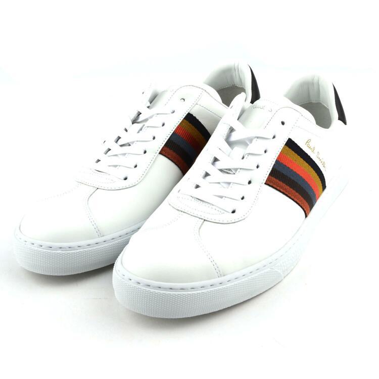 韩际新世界网上免税店-PAUL SMITH-鞋-9S-M1S-LEV15-AMOLV-01-9 WHITE 9(280~285) 男鞋