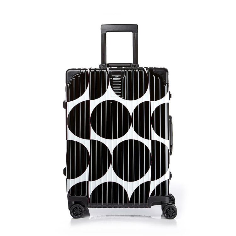 韩际新世界网上免税店-LUCKYPLANET-旅行箱包-New Edge suitcase 26_mm_bk 行李箱