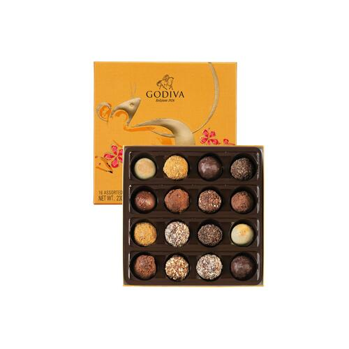 韩际新世界网上免税店-歌帝梵-CHOCOLATE_SWEETS-CNY 2020 TRUFFLES 16 PCS 巧克力