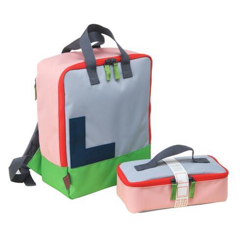 신세계인터넷면세점-릴리쿠-BABY ETC-RGB  BackPack with lunchbag Pink