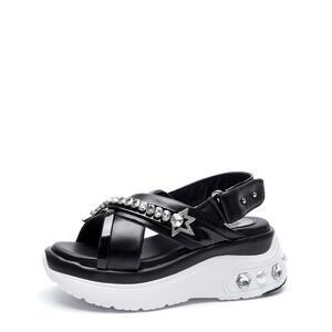 韩际新世界网上免税店-suecommabonnie-鞋-DG2AM21023BLK 350 (225)