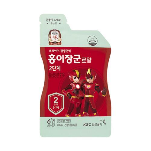 신세계인터넷면세점-정관장-Ginseng-홍이장군로얄2단계 20ML*30포