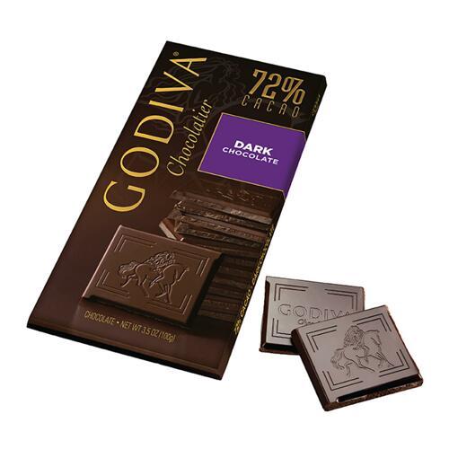 韩际新世界网上免税店-歌帝梵-CHOCOLATE_SWEETS-72% Dark Choclate Tablet 100g 巧克力
