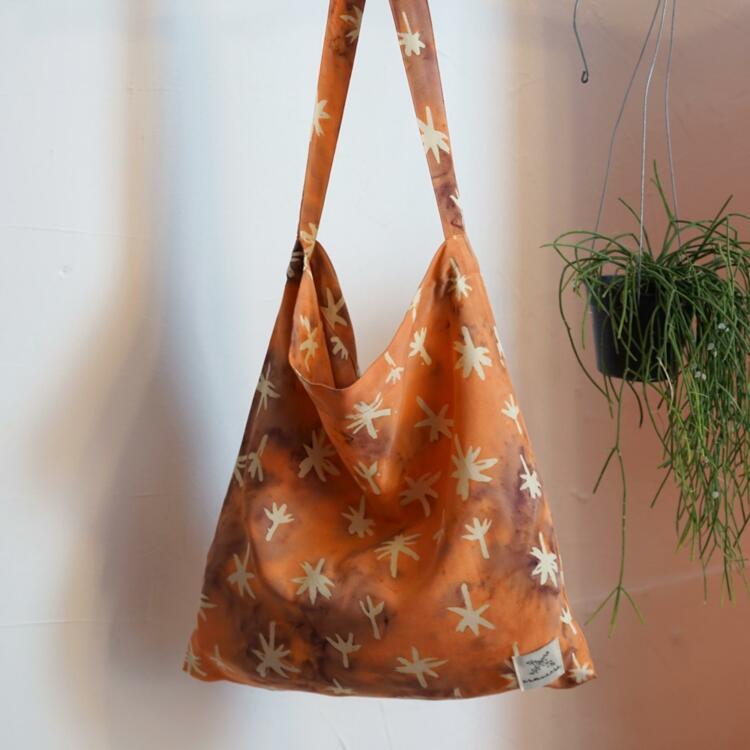 韩际新世界网上免税店-MATT AND MEL-休闲箱包-[Mellow Bag] Palm Tree - Peach 单肩包