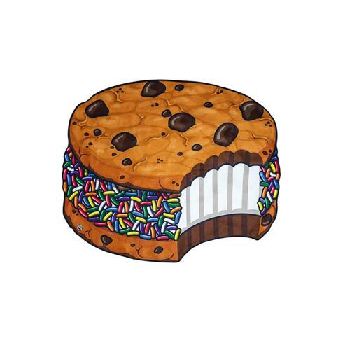 韩际新世界网上免税店-BIG MOUTH-运动休闲-gigantic ice cream cookie beach blanket 沙滩毯