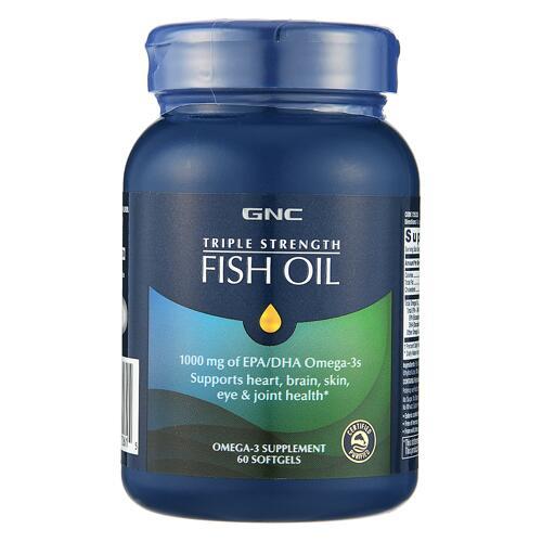 韩际新世界网上免税店-健安喜-OMEGA 3-[有效期22.03.31]TRIPLE STRENGTH FISH OIL 1000mg