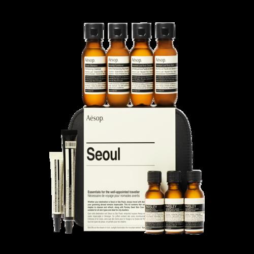 韩际新世界网上免税店-伊索--SEOUL 护肤套装