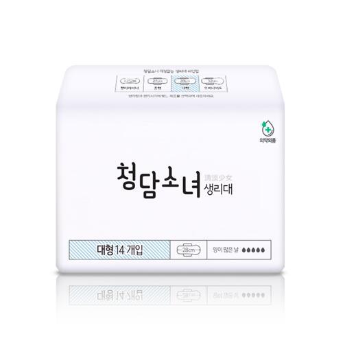 韩际新世界网上免税店-CHUNGDAM SONYEO--卫生巾套装 [大号4包]