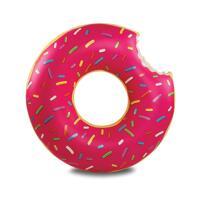 韩际新世界网上免税店-BIG MOUTH-运动休闲-giant frosted donut pool float 游泳圈