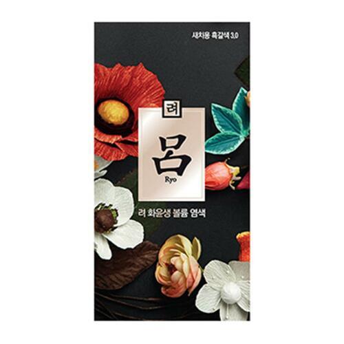 韩际新世界网上免税店-呂--和润生丰盈染发剂 3.0黑褐色 60g