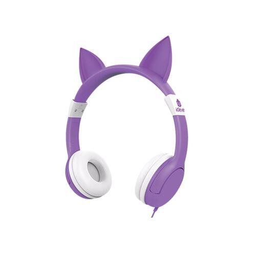 韩际新世界网上免税店-ICLEVER-EARPHONE_HEADPHONE-ICLEVER KIDS HEARING PROTECTION HEADPHONES PURPLE 儿童耳机