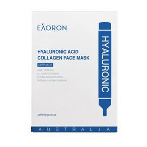 [유통기한 22년05월]Hyaluronic Acid Collagen Hydrating Face Mask 5매