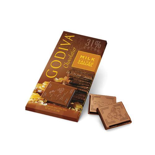 韩际新世界网上免税店-歌帝梵-CHOCOLATE_SWEETS-Milk Salted Caramel Tablet 100g 巧克力