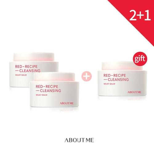韩际新世界网上免税店-ABOUT ME--(2+1)RED RECIPE CLEANSING MILKY BALM 卸妆膏