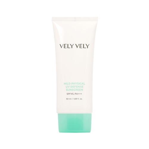 韩际新世界网上免税店-VELYVELY--mild physical uv defense sunscreen 防晒霜 50ml