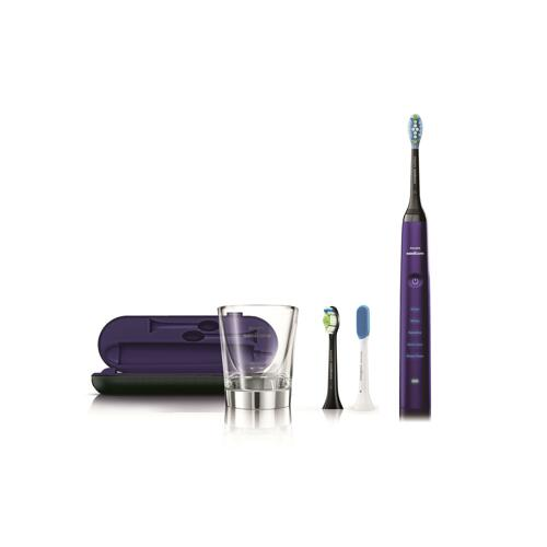 신세계인터넷면세점-필립스-Toothbrush-Philips Sonicare 다이아몬드클린 딥클린 에디션 로얄퍼플 음파전동칫솔 HX9319/08