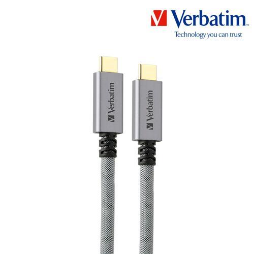 메탈릭 C-to-C 케이블 (USB 3.2) 1m 실버