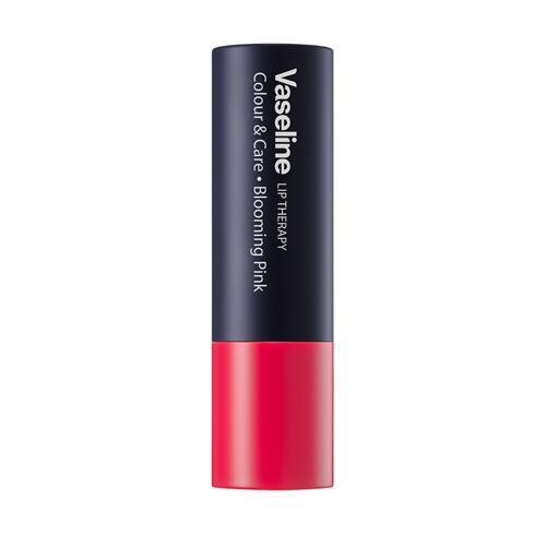 신세계인터넷면세점-바세린-립 메이크업-립테라피 컬러 앤 케어 블루밍 핑크 4.2g