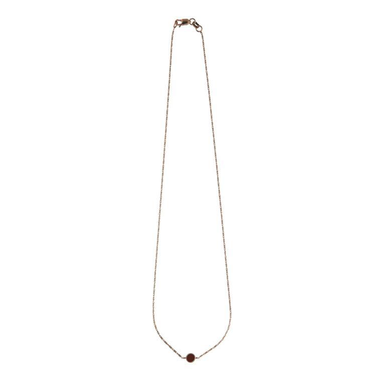 韩际新世界网上免税店-XTE-首饰-Arco_Red_Necklace 项链