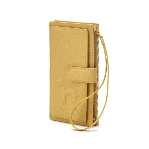 신세계인터넷면세점-헤지스-지갑-HIHO1E254Y2 옐로우 퍼피배색 소가죽 장지갑