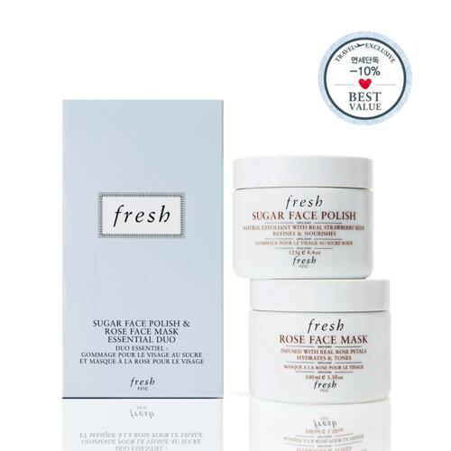 신세계인터넷면세점-프레쉬-Facial Care-Rose, Sugar Mask Duo