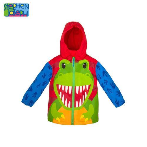 SJ RAINCOAT  DINO 6/6X (S17) 儿童雨衣