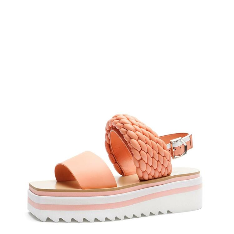 韩际新世界网上免税店-suecommabonnie-鞋-DG2AM21013ORE 340 (220)