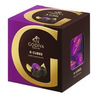 韩际新世界网上免税店-歌帝梵-CHOCOLATE_SWEETS-Dark Chocolate G Cube Truffle (22 pieces) 175g 巧克力