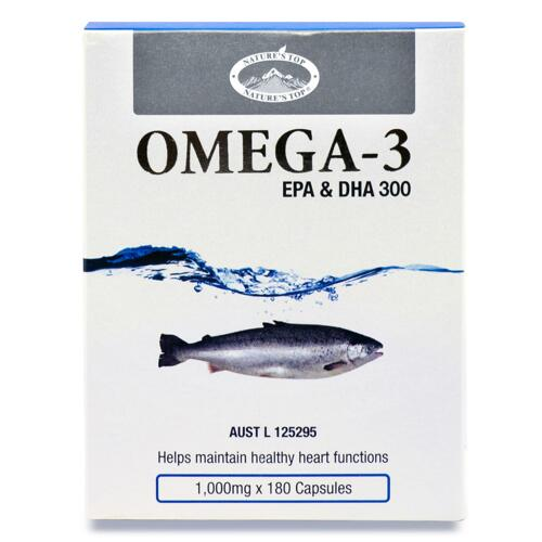 신세계인터넷면세점-네이쳐스탑-Omega3-OMEGA-3(오메가 쓰리) 1,000mg x 180캡슐