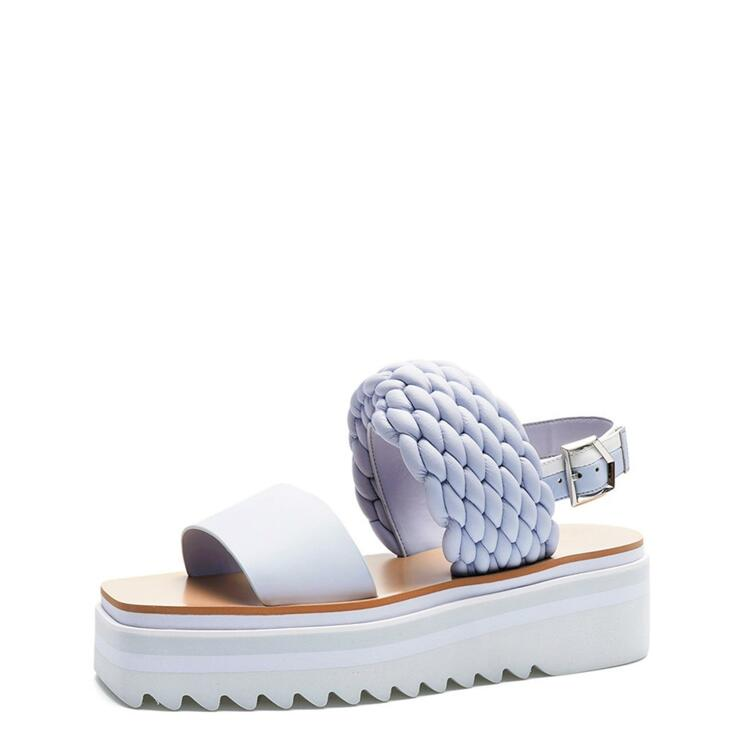 韩际新世界网上免税店-suecommabonnie-鞋-DG2AM21013BUL 380 (250)