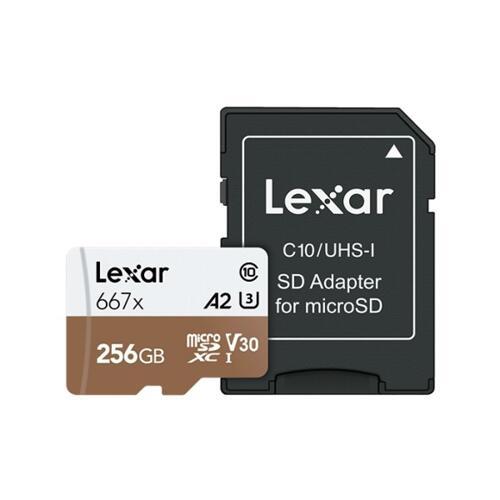 신세계인터넷면세점-렉사-CameraAcc-MicroSD카드 667배속 256GB