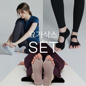 韩际新世界网上免税店-SKULLPIG-运动休闲-YOGA SOCKS 3 SET(Dust Blue, Black Dust, Purple)  袜子