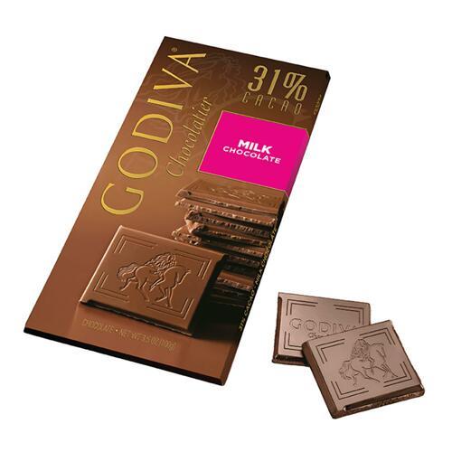 韩际新世界网上免税店-歌帝梵-CHOCOLATE_SWEETS-Milk Chocolate Tablet 100g 巧克力