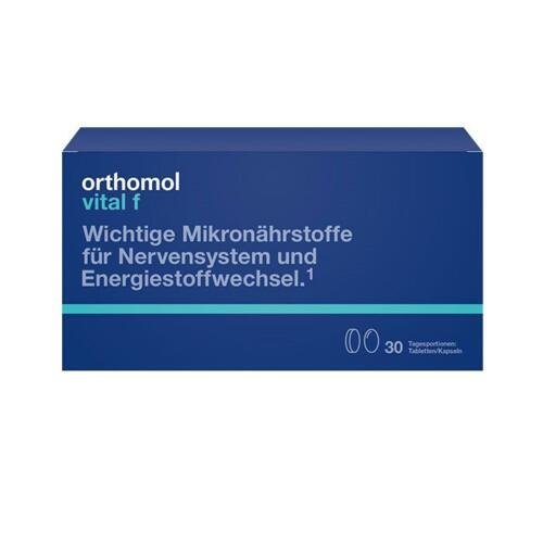 韩际新世界网上免税店-ORTHOMOL-VITAMIN-VITAL F TABLET CAPSULE TYPE (非液体的女性综合营养剂)