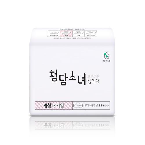 韩际新世界网上免税店-CHUNGDAM SONYEO--卫生巾套装 [中号4包]