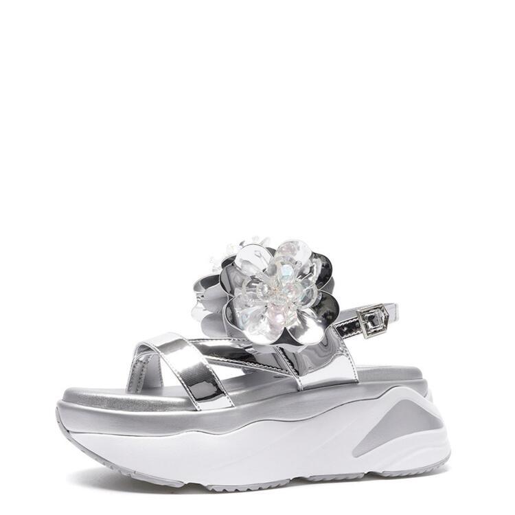 韩际新世界网上免税店-suecommabonnie-鞋-DG2AM21034SVX 370 (240)