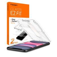 韩际新世界网上免税店-SPIGEN-SMART DEVICE ACC-苹果11 强化玻璃  GlastRslim EZ Fit 液晶保护膜