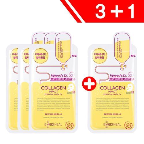 신세계인터넷면세점-메디힐-Face Masks & Treatments-3+1 압인) 콜라겐 임팩트 에센셜 마스크 EX
