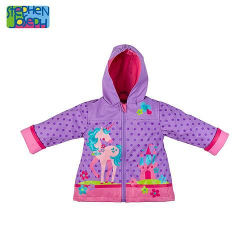 SJ RAINCOAT  UNICORN 4T(S17) 儿童雨衣