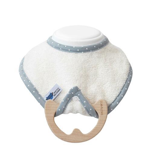 LULLALOVE Teething Neck White