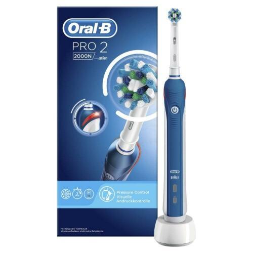 신세계인터넷면세점-오랄비-Toothbrush-오랄비 크로스 액션 2000N(블루)