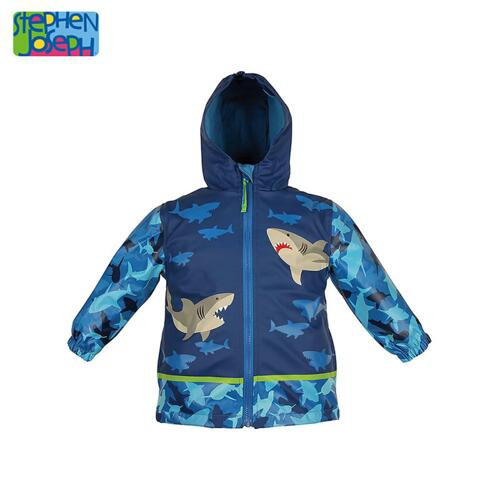 SJ RAINCOAT SHARK 4T (S15) 儿童雨衣