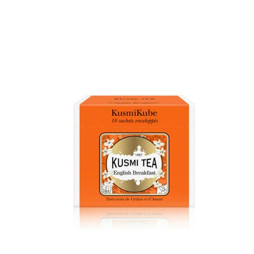 韩际新世界网上免税店-KUSMI TEA-TEA-ENGLISH BREAKFAST - 10 ENVELOPPED TEA BAGS RECHARGE - 22g 茶