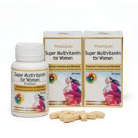 韩际新世界网上免税店-NATURES FAMILY-VITAMIN-SUPER MULTIVITAMIN FOR WOMEN 女性综合维生素 60粒 x 2瓶