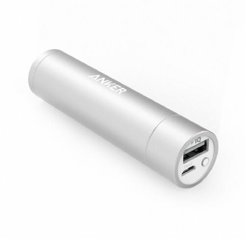 신세계인터넷면세점-앤커-Charger-Cable-앤커 파워코어+3350mAh 휴대용배터리 A1104 실버